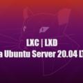 LXC (LXD) контейнер в Ubuntu 20.04 LTS